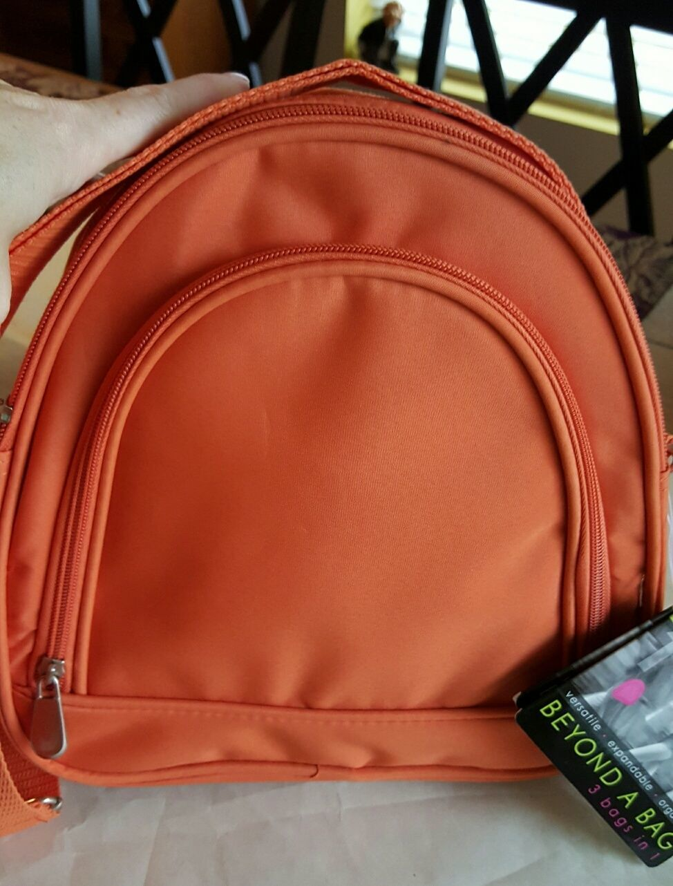 Beyond a Bag 3 Bags in One Backpack, Sling and Duffel Bag NWT image 6