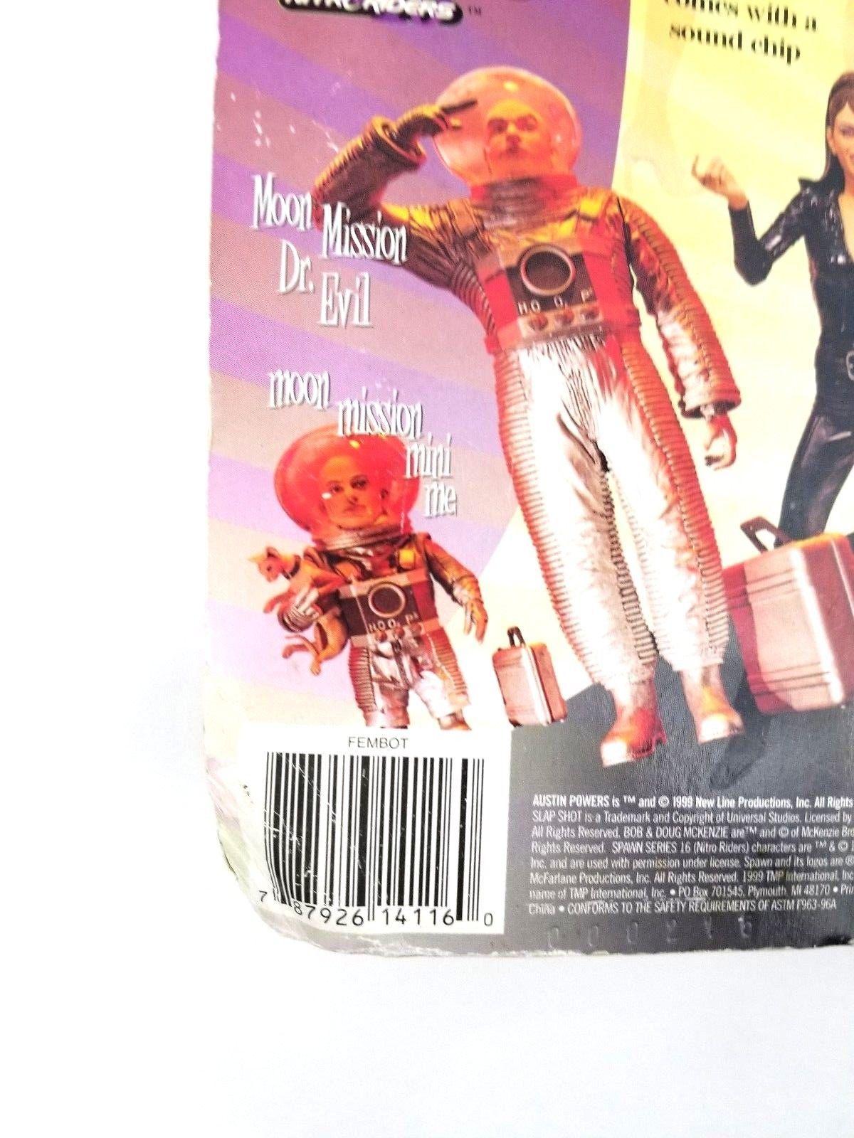 Austin Powers Figures Feature Film Series 2 Fembot Figure McFarlane Toys 1999
