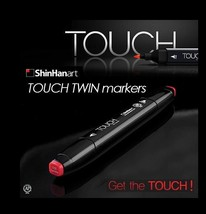 ShinHan Art TOUCH TWIN 60 Marker Set A Twin tips - 60 COLORS image 2