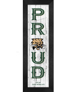 "Ohio University Bobcats ""Proud & Loyal"" - 8x24 Wood-Textured Look Framed... - $39.95"