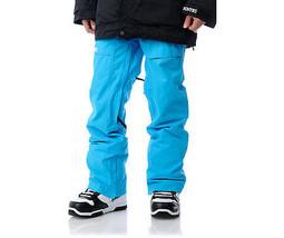 Nomis Mens Snowboard Pant Cargo Waterproof Ski Shell logo blue XL - $93.59