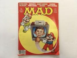 Mad Magazine January 1990 Nintendo Married With Children Honey I Shrunk The Kids - $11.00