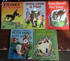 Pkg.E - 10 Vintage WONDER Children's Books - All Popular Titles - $8.00
