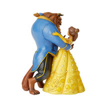 "9"" Belle & Beast Dancing ""Moonlight Waltz""  by Jim Shore Disney Traditions image 3"