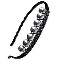 Elegant Beads Rhinestone Diamond Hair Hoop Headdress Headband