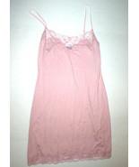 NWT New S Designer Josie Natori Night Gown Chemise Womens Blush Pink Sof... - $201.50