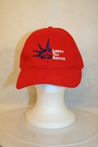 Liberty Tax Service Red White Blue Adjustable Dad Trucker Cap Hat - $29.95
