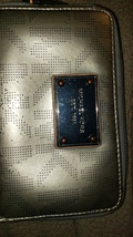 Michael Kors gold wallet zips open and close 5.5x3.5 extra small - $60.00