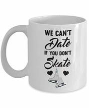 PixiDoodle Sassy Dating Skating Coffee Mug (11 oz, White) - $19.30