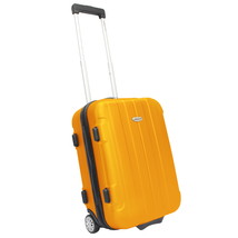 """Traveler's Choice Rome 20"""" Orange Carry-on Lightweight Rolling Suitcase ... - $54.44"""