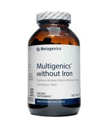 Multigenics without Iron 180 Tablets by Metagenics - $84.15