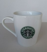 Starbucks 2007 Coffee Tea Mug Cup 8 Oz Green White Classic Logo - $6.62