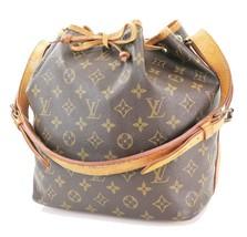 Authentic LOUIS VUITTON Petit Noe Monogram Shoulder Tote Bag Purse #32200 - $419.00