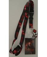 Carnage Spiderman Marvel Comics ID Badge Holder Keychain Lanyard - $12.00