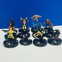 Heroclix miniature mixed 12 figure lot comic game neca Marvel Daredevil ... - $19.18
