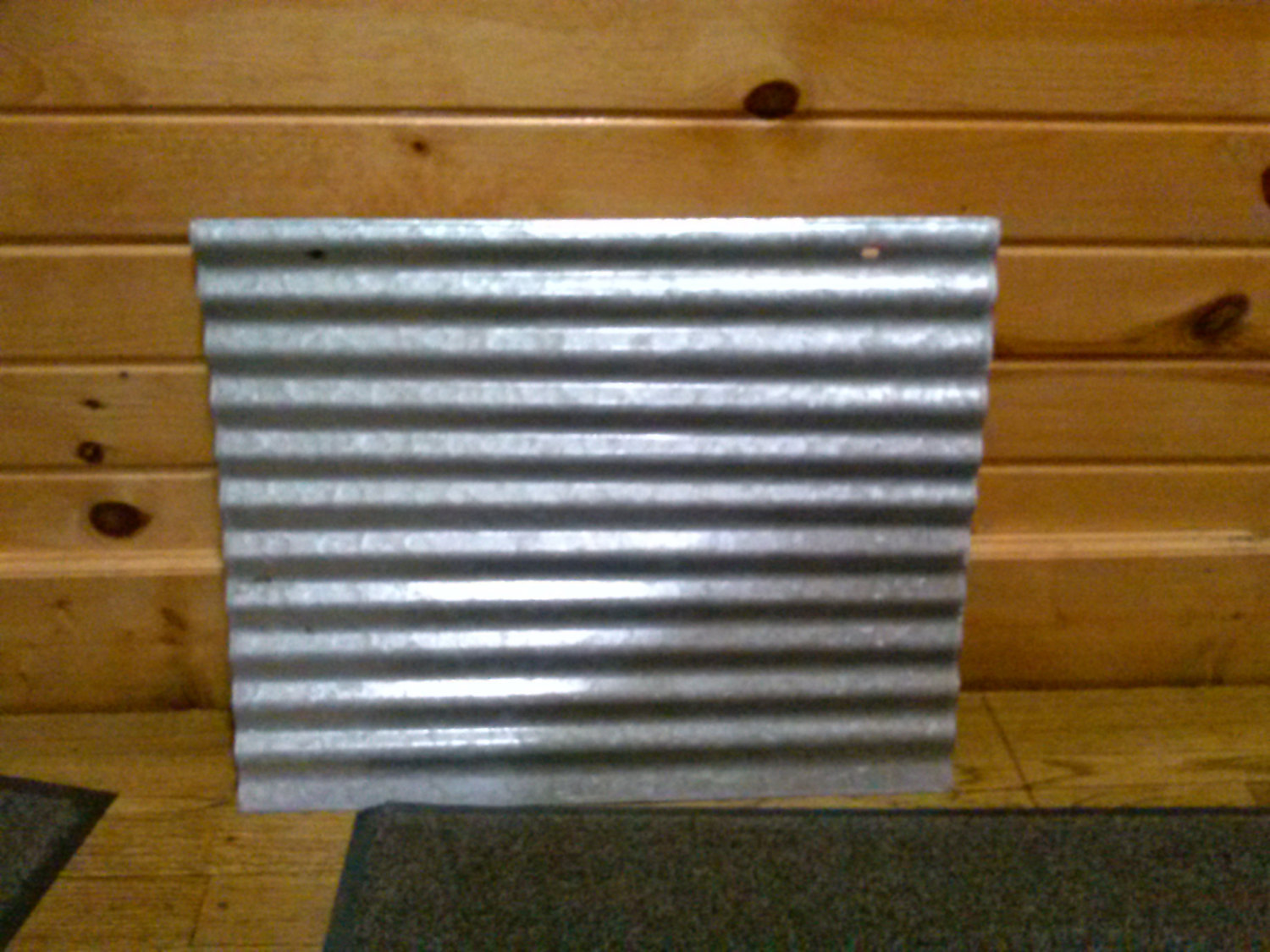 vintage corrugated galvanized metal sheet perfect for