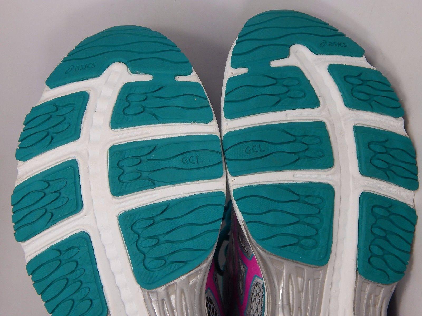 Asics Gel Cumulus 18 Women's Running Shoes Size US 12 M (B) EU 44.5 Silver T6C8N