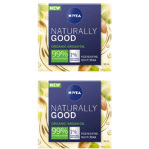 2 Nivea Naturally Good Night Cream 50 ml - $46.80