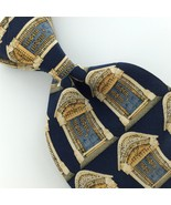 UNICEF BRITISH VICTORIAN GOTHIC STYLE 1837 WINDOWS Silk Mens Necktie Tie... - $15.83
