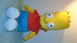 Bart Simpson Fox 31 Inch Plush doll new with tag 2004 - $34.64
