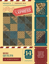 Anita Goodesign Express Mini Quilts Embroidery Machine CD (CD ONLY) - $10.39