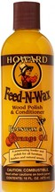 Howard FW0016 Feed-N-Wax Wood Polish and Conditioner, Beeswax & Orange O... - $11.64