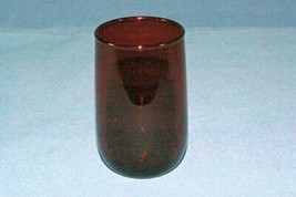 """Anchor Hocking Royal Ruby Roly Poly Juice Glass 3 3/8"""" - $5.39"""