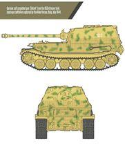 Academy 13537 German Elefant Sd.kfz.184 Tank Plastic Hobby Model Kit image 4