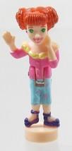 1999 Vintage Polly Pocket Doll Polly & the Pops Music Mall - Lea Bluebir... - $6.00