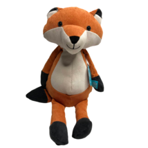 Manhattan Toy Company Fox Plush Corduroy Folksy Foresters Orange Stuffed... - $23.26