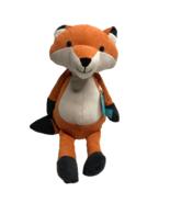 Manhattan Toy Company Fox Plush Corduroy Folksy Foresters Orange Stuffed... - $23.26