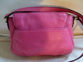MICHAEL KORS Pebbled Leather Crossbody Bag Hot Pink / Raspberry - MINT - $57.42