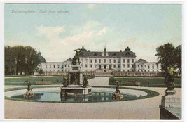 Slott Drottningholm Stockholm Sweden postcard - $5.94