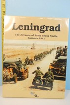 Leningrad: Advance of Army Group North Summer 1941 Decision Games 1994 S... - $45.49