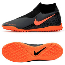 Nike Phantom Vision Academy DF TF Football Shoes Soccer Cleats Black AO3... - $97.99