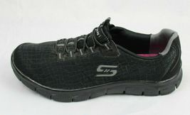 Skechers women's shoes relaxed fit air cooled memory foam black size US 9.5 image 4