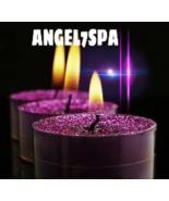 Customize your wish Violet Ray Archangel Zadkiel Purple Candle 31 days r... - $250.99
