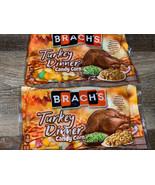 Brach's ~ Turkey Dinner Candy Corn 2-Bags 12 oz. Each ~ Expires 06/2021 - $23.36