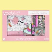 Flamingo School Supply Kit by Yoobi - $15.00