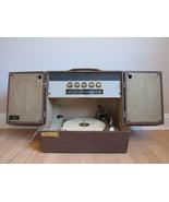 RARE RECORD PLAYER vintage AMC STEREOPHONIC PHONOGRAPH M-1102A HIFI tube... - $373.99