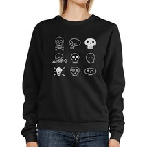 Skulls Black Sweatshirt - $20.99+