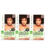 3 Ct Clairol Natural Instincts 4RR Sweet Cherry Dark Red 28 Shampoos Hai... - $26.99