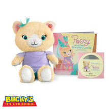Posey and the Princess Castle Hallmark Interactive Plush Story Buddy, Book & CD - $79.19