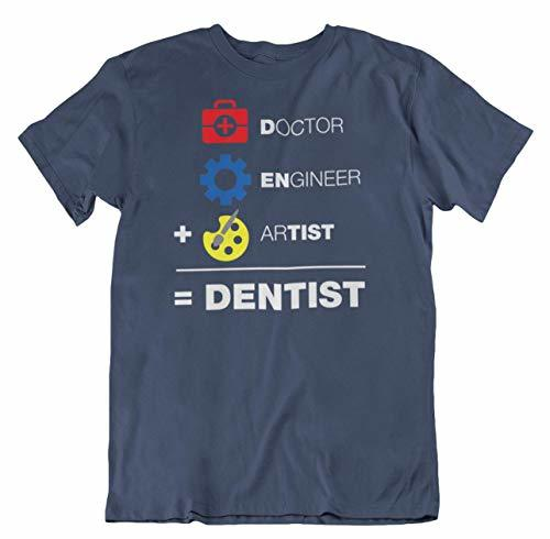Primary image for A Doctor, an Engineer & an Artist is Equal to A Dentist Funny Equation T-Shirt N