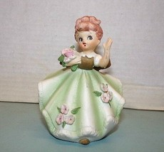 """Pretyy Girl"" #5735 Porcelain Figure - Marked Crown over Cursive L - $8.42"