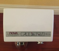 New NOVA Model 0110by Push Button Hand Dryer American Hotel Register Canada Made image 2