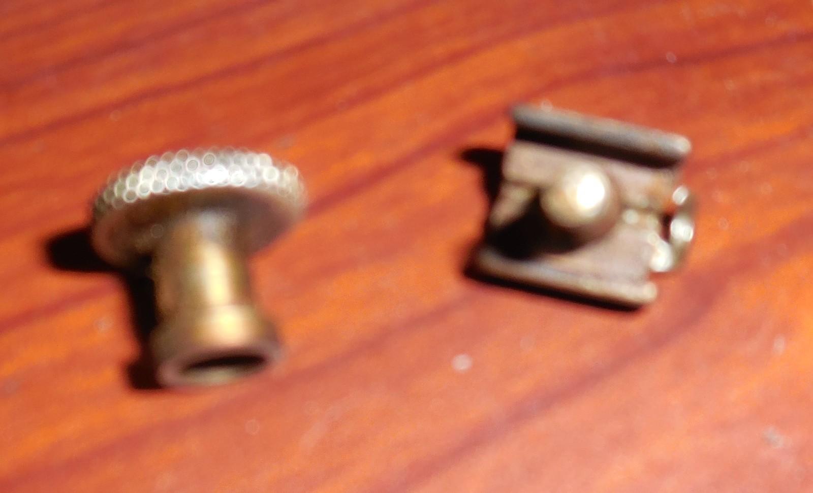 White Rotary 2 Part (Through Needle Bar) Needle Clamp Antique Works - $10.00