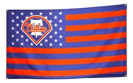 Philadelphia Phillies Flag 3x5 Banner MLB Poster Stars and Stripes NEW - $18.50