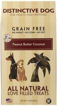 Organic Dog Treats, Peanut Butter Macaroon Training Grain Free Natural D... - $19.99