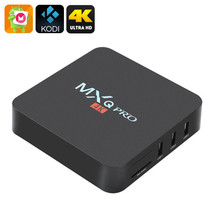 MXQ Pro 4K Ultra HD TV Box - KODI, Android 6.0, 64Bit Amlogic S905 Quad ... - $57.99